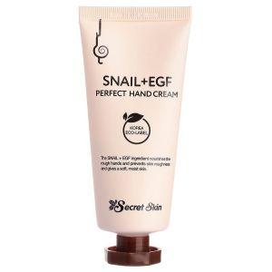 Крем для рук с муцином улитки, 50мл - Secret Skin Snail + EGF Perfect Hand Cream