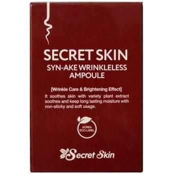 Ампульная сыворотка с пептидом змеиного яда, 30мл - Secret Skin Syn-Ake Wrinkleless Ampoule