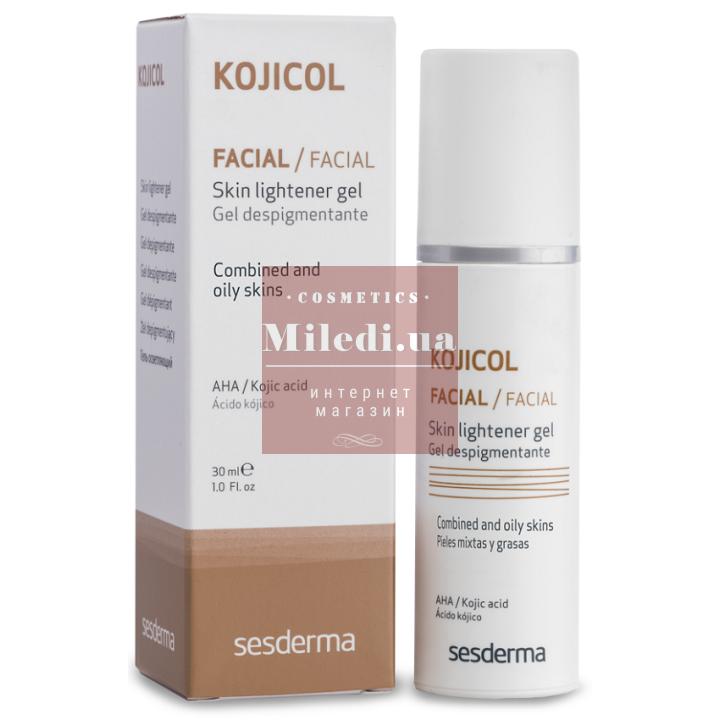 Осветляющий гель для лица против пигментации - Sesderma Laboratories Kojicol Facial Skin Lightener Gel, 30мл