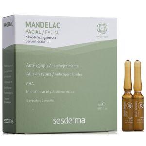 Ампулы с миндальной кислотой, 5х2мл - Sesderma Laboratories Mandelac Facial Moisturizing Serum