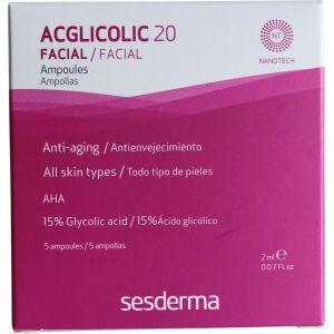 Ампульная сыворотка с 15% гликолевой кислотой - Sesderma Laboratories Acglicolic 20 Ampoules