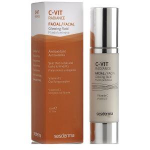Флюид с витамином С, 50мл - Sesderma Laboratories C-Vit Radiance Facial Glowing Fluid