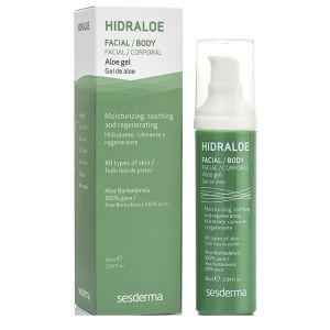 Гель Алоэ для лица и тела, 60мл - Sesderma Laboratories Hidraloe Facial Body Aloe Gel 100% Pure
