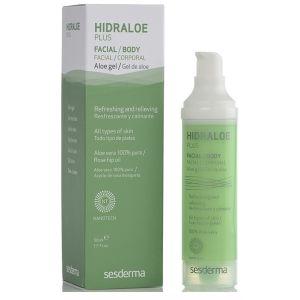 Гель Алоэ плюс, 50мл - Sesderma Laboratories Hidraloe Plus Facial Body Aloe Gel