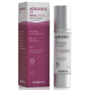 Гель увлажняющий с 15% гликолевой кислотой для жирной кожи - Sesderma Laboratories Acglicolic 20 Moisturizing Gel