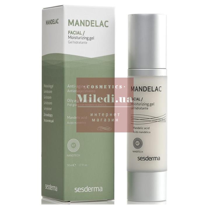 Гель увлажняющий для жирной кожи лица с миндальной кислотой - Sesderma Laboratories Mandelac Moisturizing Gel