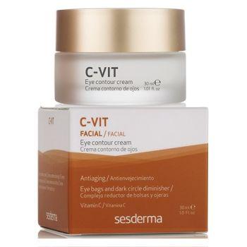 Крем вокруг глаз с витамином С, 30мл - Sesderma Laboratories C-Vit Facial Eye Contour Cream