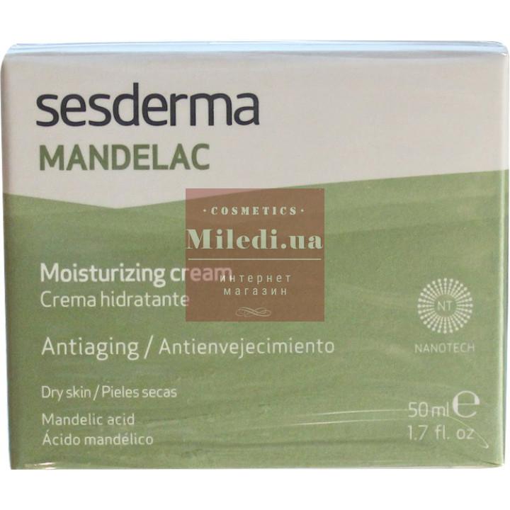 Крем увлажняющий с миндальной кислотой - Sesderma Laboratories Mandelac Facial Moisturizing Cream, 50мл