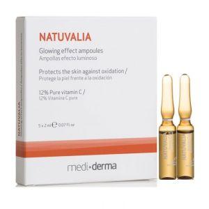 Ампулы с витамином С, 5х2мл - Sesderma Laboratories Natuvalia Glowing Effect Ampoules