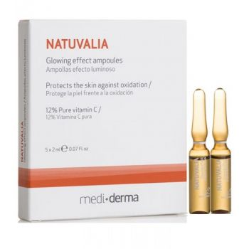 Ампулы с витамином С, 5х2мл - Sesderma Laboratories Natuvalia Glowing Effect Ampoules