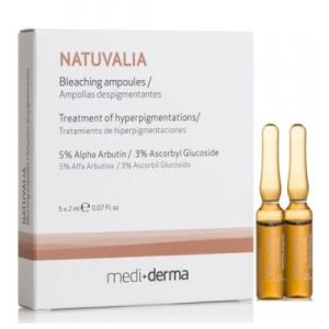 Ампулы с отбеливающим эффектом, 5х2мл - Sesderma Laboratories Natuvalia Bleaching Ampoules