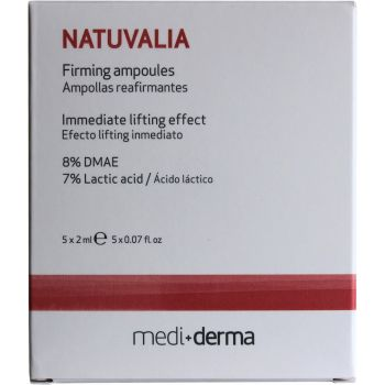 Ампулы с лифтинг-эффектом, 5х2мл - Sesderma Laboratories Natuvalia Firming Ampoules Immediate Lifting Effect