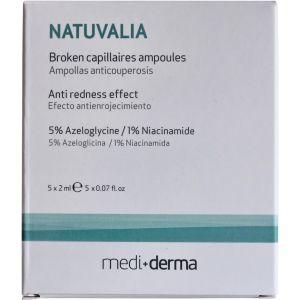 Ампульная сыворотка против купероза - Sesderma Laboratories Natuvalia Broken Capillaires Ampoules