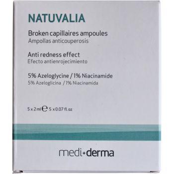 Ампулы против купероза, 5х2мл - Sesderma Laboratories Natuvalia Broken Capillaires Ampoules