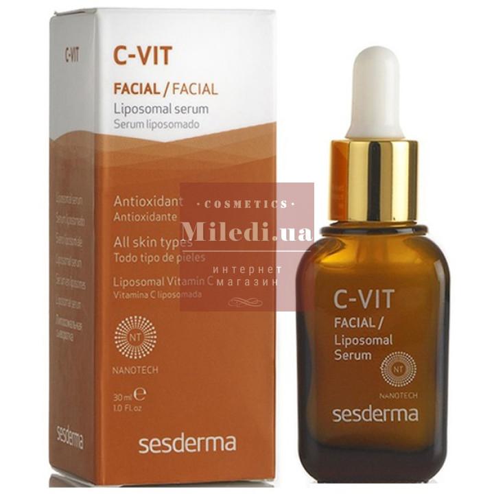 Сыворотка липосомальная антиоксидантная с витамином С - Sesderma Laboratories C-Vit Facial Liposomal Serum