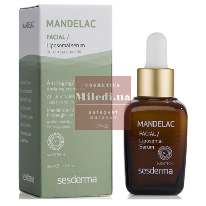 Сыворотка липосомальная антивозрастная с миндальной кислотой - Sesderma Laboratories Mandelac Facial Liposomal Serum, 30мл