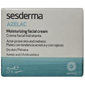 Крем при куперозе, демодексе и розацеа, 50мл - Sesderma Laboratories Azelac Moisturizing Face Cream