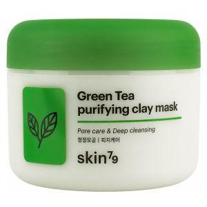 Глиняная маска с зеленым чаем, 100мл - Skin79 Green Tea Purifying Clay Mask