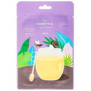 Питательная маска с муцином улитки и медом, шт - Skin79 The Honeyful Snail Mask