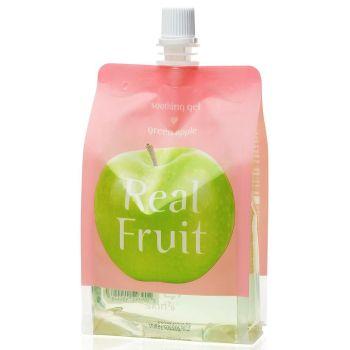 Успокаивающий гель Зеленое яблоко, 300мл - Skin79 Real Fruit Soothing Gel Green Apple