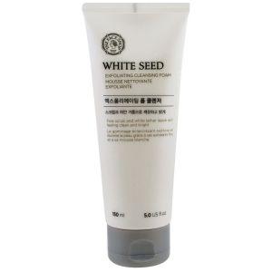 Пенка для умывания, 150мл - The Face Shop White Seed Exfoliating Cleansing Foam
