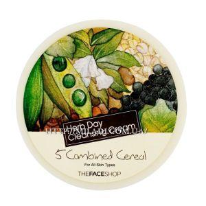 Крем Пять злаков для умывания, 150мл - THEFACESHOP Herb Day Cleansing Cream Five Combined Cereal