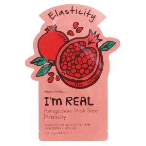Тканевая маска Гранат, шт - Tony Moly I'm Real Pomegranate Mask Sheet Elasticity