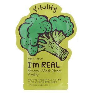 Тканевая маска Броколли, шт - Tony Moly I'm Real Broccoli Mask Sheet Vitality