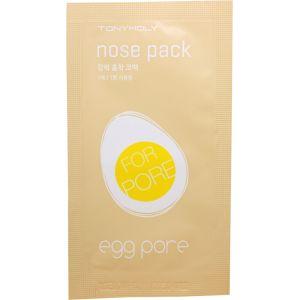Пластырь от черных точек, шт - Tony Moly Egg Pore Nose Strip Pack