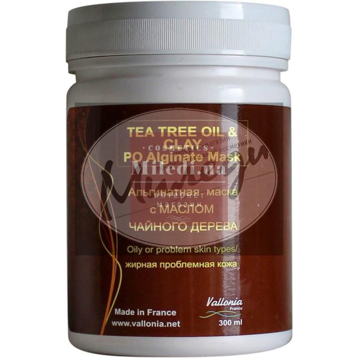 Альгинатная маска с маслом Чайного дерева - Vallonia Tea Tree Oil & Clay Peel off Alginate Mask
