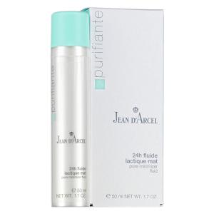 Флюид суживающий поры для жирной проблемной кожи лица - Jean d'Arcel Purifying Fluide Lactique Mate