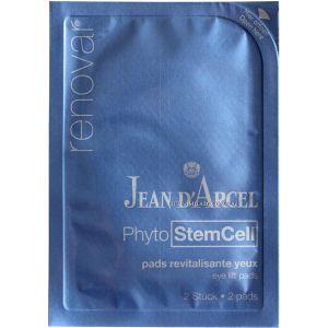 Патчи для лифтинга кожи вокруг глаз, 10штх2 - Jean d`Arcel Renovar Phyto StemCell Pads Revitalisante Yeux